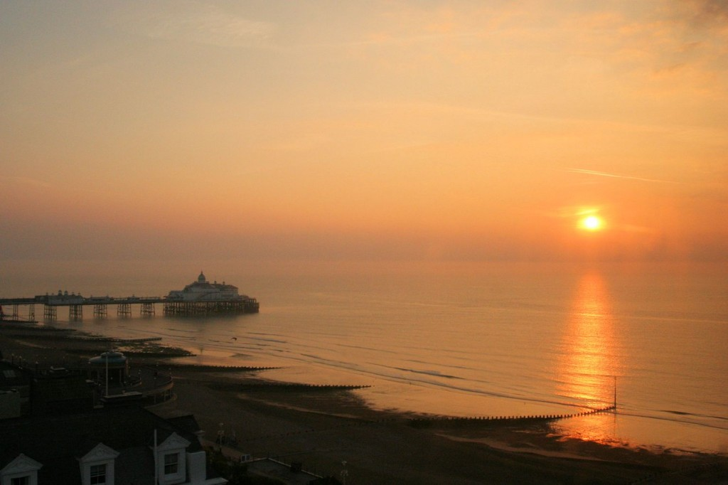 Sunrise in Eastbourne