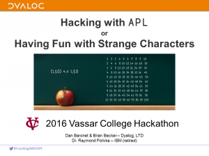HackingWithAPL
