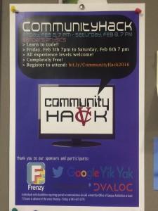 Vassar Hackathon Poster