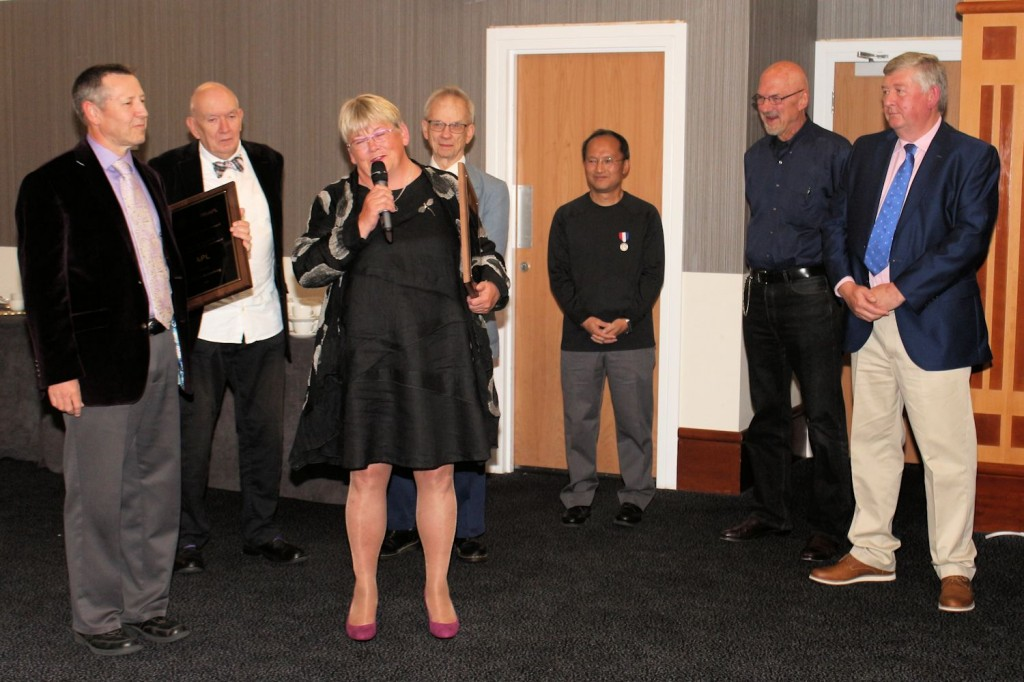 Iverson Award presentation
