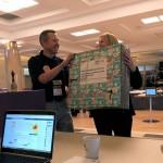 Morten gets a parcel