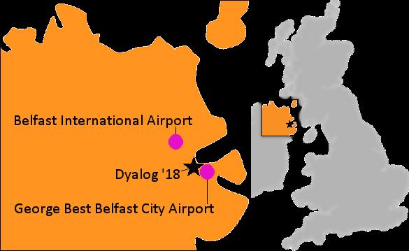 International Airports In Ireland Map.Dyalog Directions